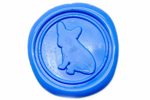 French Bulldog Wax Seal Stamp | Available in 4 Sizes - Backtozero