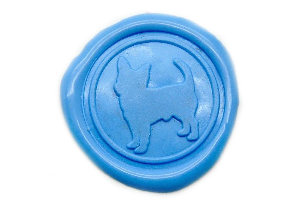 Chihuahua Wax Seal Stamp, Backtozero  - 2