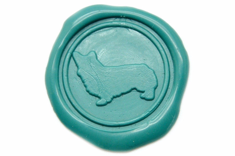 Corgi Wax Seal Stamp | Available in 4 Sizes - Wax Seal Stamp - Backtozero