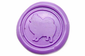 Pomeranian Wax Seal Stamp, Backtozero  - 1