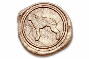 Greyhound Wax Seal Stamp, Backtozero  - 2