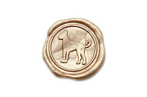 Great Dane Wax Seal Stamp, Backtozero  - 2