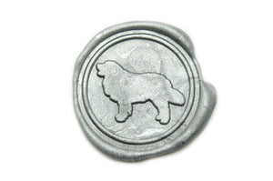 Golden Retriever Wax Seal Stamp, Backtozero  - 2