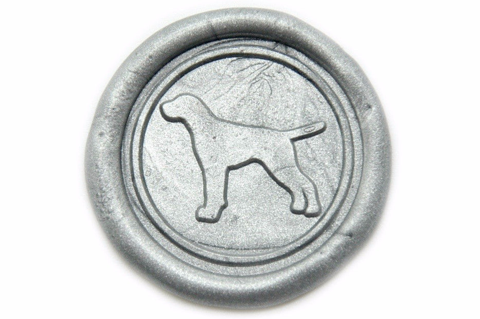 Pointer Wax Seal Stamp, Backtozero  - 2