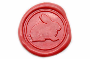 Rabbit Wax Seal Stamp, Backtozero  - 2