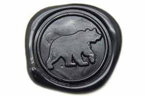 Bear Wax Seal Stamp | Available in 4 Sizes - Wax Seal Stamp - Backtozero