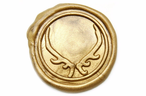 Antler Wax Seal Stamp, Backtozero  - 1