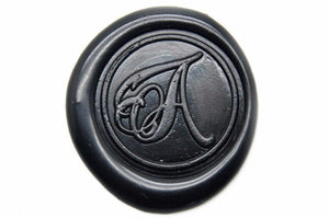 Calligraphy Initial Wax Seal Stamp | Available in 4 Sizes - Backtozero