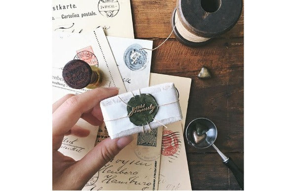 Yours Sincerely Wax Seal Stamp Designed by Pooi Chin - Wax Seal Stamp - Backtozero