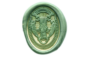 Badger Portrait Wax Seal Stamp - Wax Seal Stamp - Backtozero