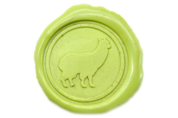 Alpaca Wax Seal Stamp - Wax Seal Stamp - Backtozero