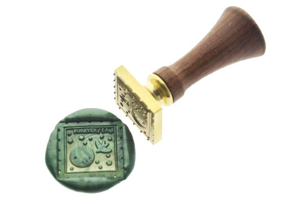 Interstellar Post Wax Seal Stamp Designed by Ame - Wax Seal Stamp - Backtozero