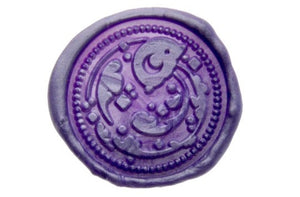 Moonjelly Aria Wax Seal Stamp Designed by Ame - Wax Seal Stamp - Backtozero
