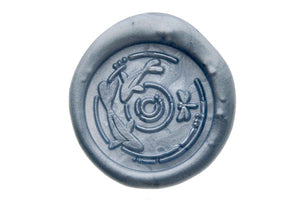 Rivulet Menuet Wax Seal Stamp Designed by Ame - Wax Seal Stamp - Backtozero