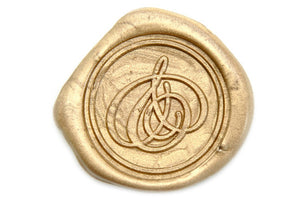Ampersand Wax Seal Stamp - Wax Seal Stamp - Backtozero