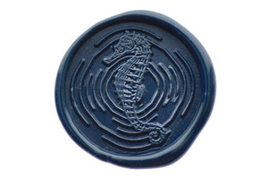 Seahorse Portrait Wax Seal Stamp - Wax Seal Stamp - Backtozero