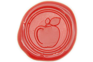 Apple Wax Seal Stamp - Wax Seal Stamp - Backtozero