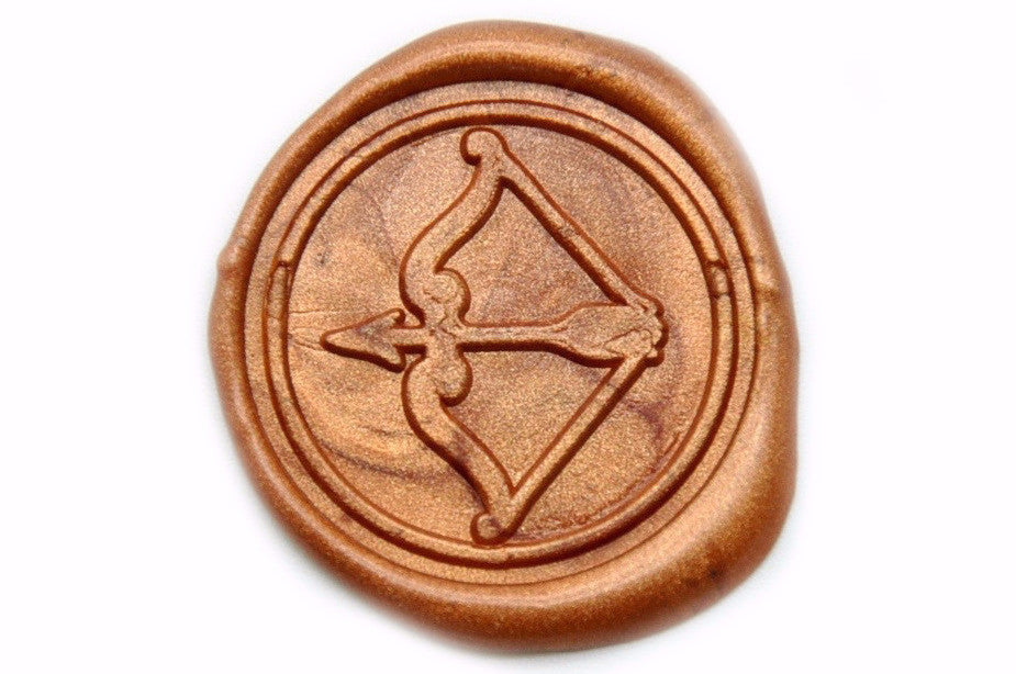 Archery Wax Seal Stamp, Backtozero  - 2