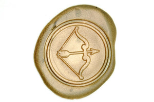 Archery Wax Seal Stamp - Wax Seal Stamp - Backtozero