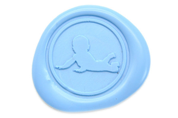 Baby Wax Seal Stamp - Wax Seal Stamp - Backtozero