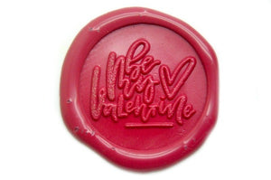 Be My Valentine Wax Seal Stamp - Wax Seal Stamp - Backtozero