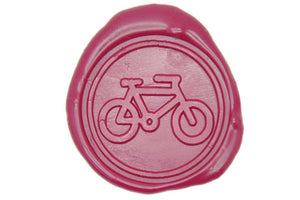 Bike Wax Seal Stamp - Wax Seal Stamp - Backtozero