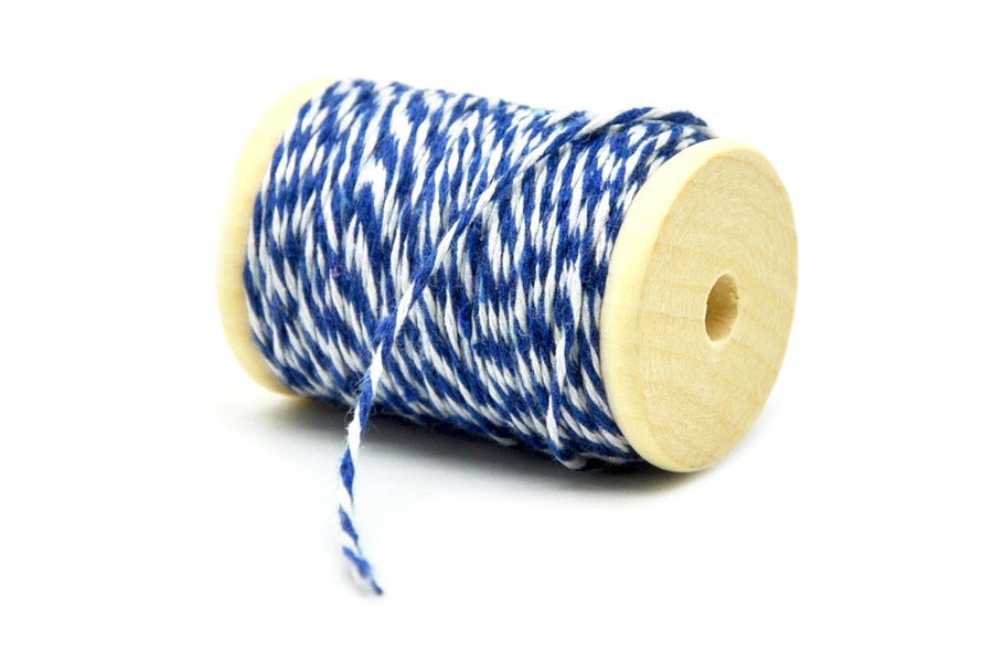 Blue/White Baker's Twine - Backtozero