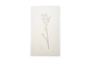 Botanical Rubber Stamp | D - Rubber Stamp - Backtozero