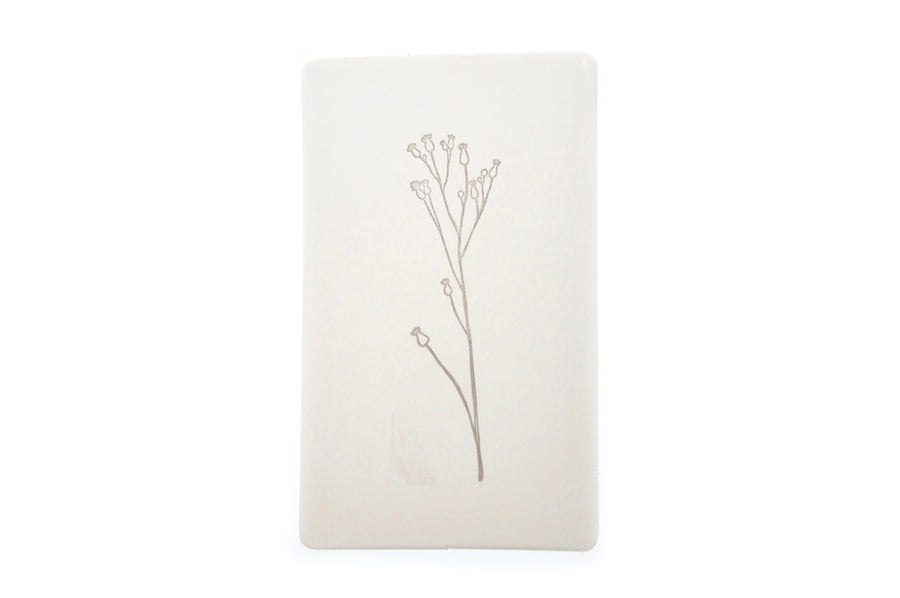 Botanical Rubber Stamp | D - Backtozero