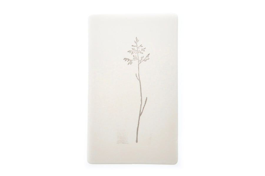 Botanical Rubber Stamp | L - Rubber Stamp - Backtozero