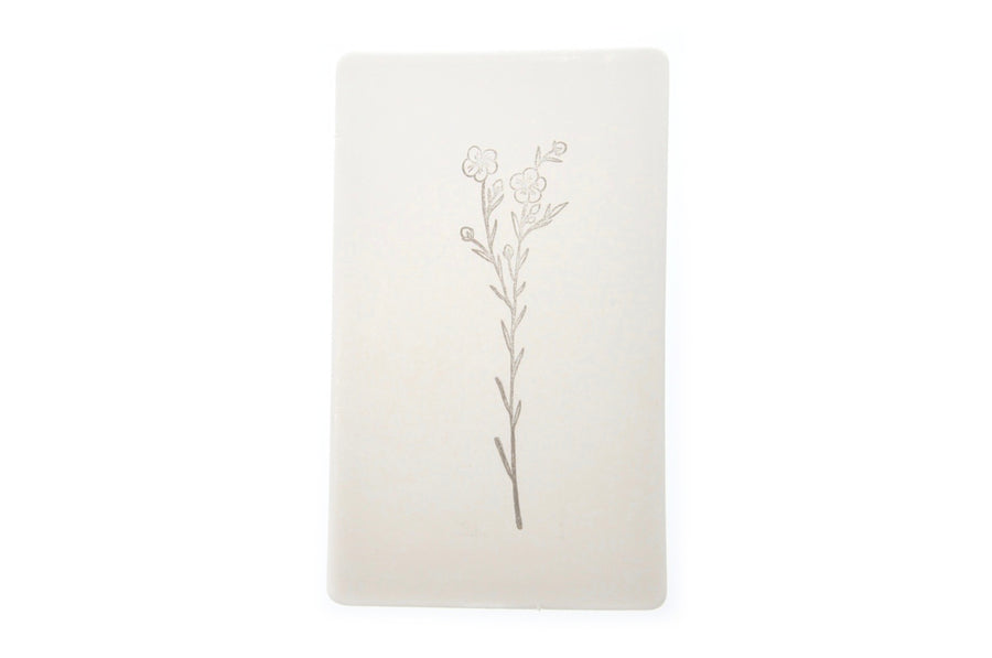 Botanical Rubber Stamp | F - Rubber Stamp - Backtozero