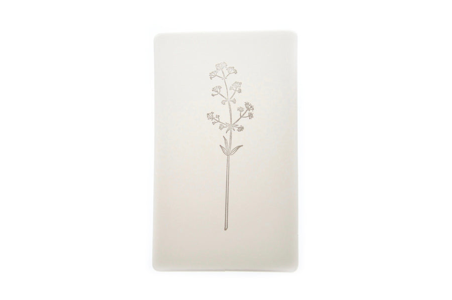 Botanical Rubber Stamp | H - Backtozero