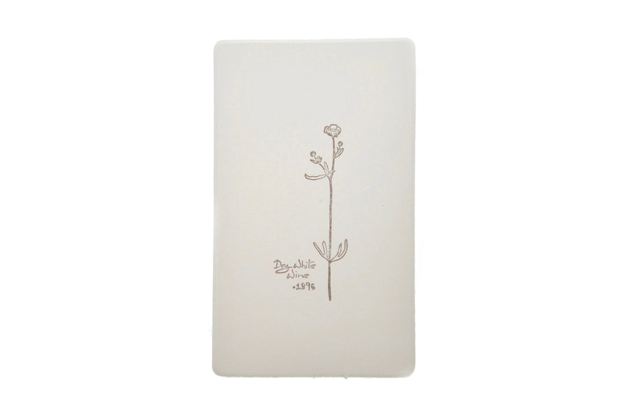 Botanical Words Rubber Stamp | A - Rubber Stamp - Backtozero