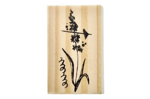 Flower Rubber Stamp | A - Rubber Stamp - Backtozero