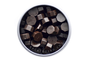 Brown Octagon Sealing Wax Beads - Sealing Wax - Backtozero