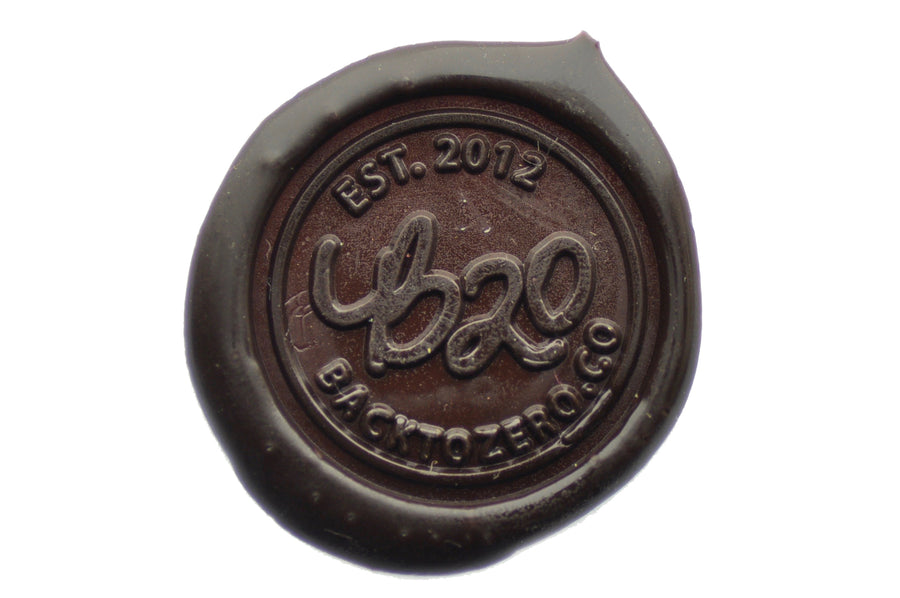 Brown Non-Wick Filigree Sealing Wax Stick - Sealing Wax - Backtozero