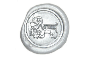Chinese Zodiac Dog Wax Seal Stamp - Wax Seal Stamp - Backtozero