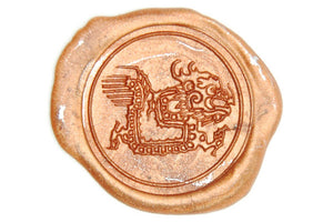 Chinese Zodiac Dragon Wax Seal Stamp - Wax Seal Stamp - Backtozero