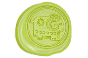 Chinese Zodiac Goat Wax Seal Stamp - Wax Seal Stamp - Backtozero