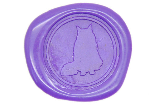 Cat Wax Seal Stamp - Wax Seal Stamp - Backtozero
