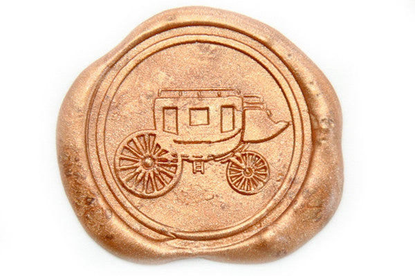 Coach Wax Seal Stamp - Wax Seal Stamp - Backtozero