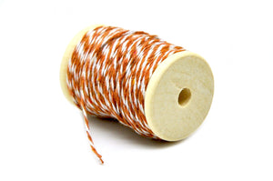 Coffee Brown/White Baker's Twine - Twine - Backtozero