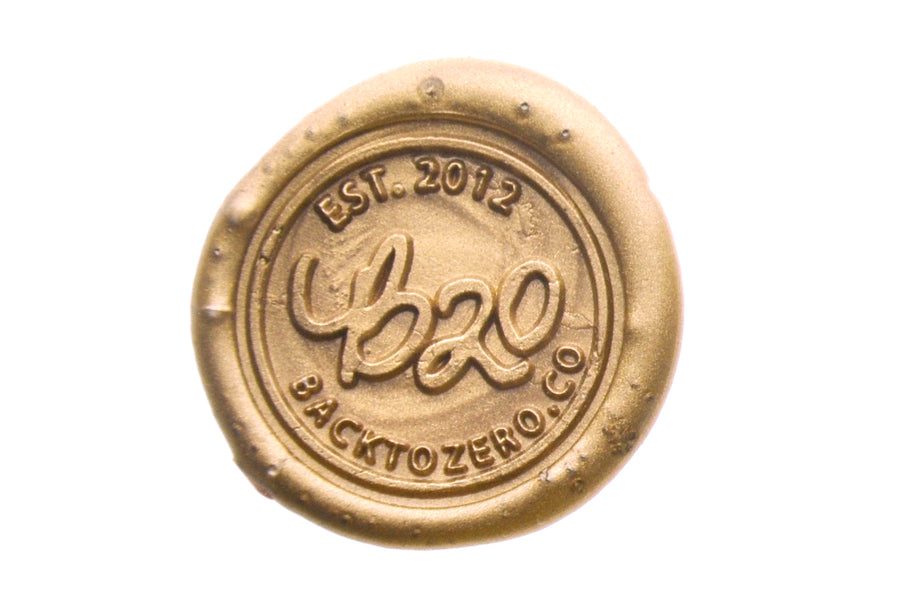 Copper Octagon Sealing Wax Beads - Sealing Wax - Backtozero