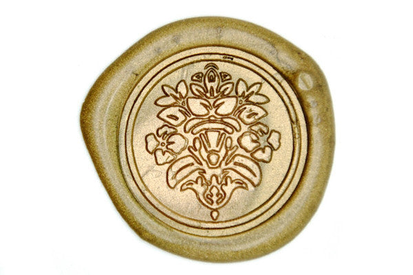 Victorian Deco Wax Seal Stamp - Wax Seal Stamp - Backtozero