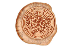 Damask Wax Seal Stamp - Wax Seal Stamp - Backtozero