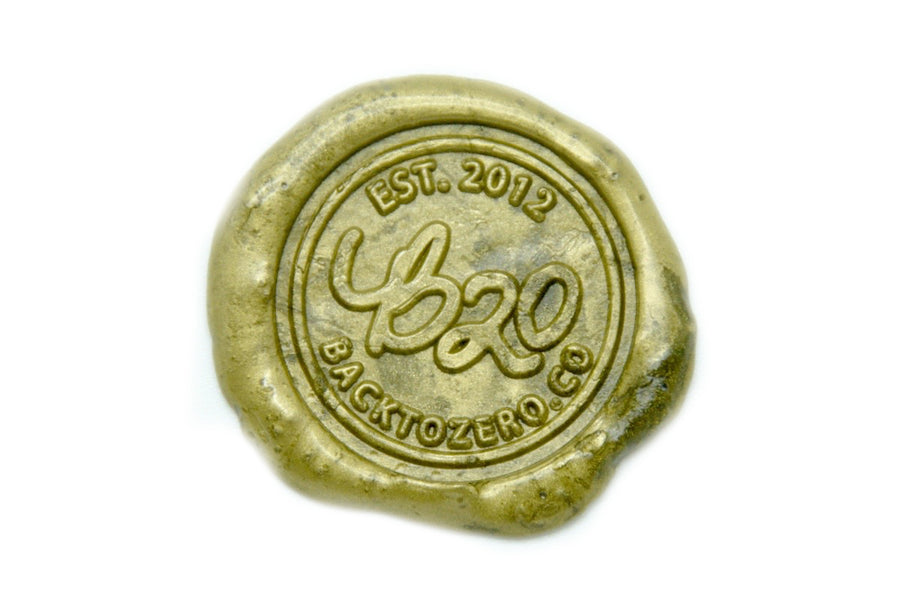 Dark Gold Octagon Sealing Wax Beads - Sealing Wax - Backtozero