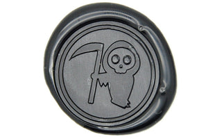 The Death Wax Seal Stamp - Wax Seal Stamp - Backtozero