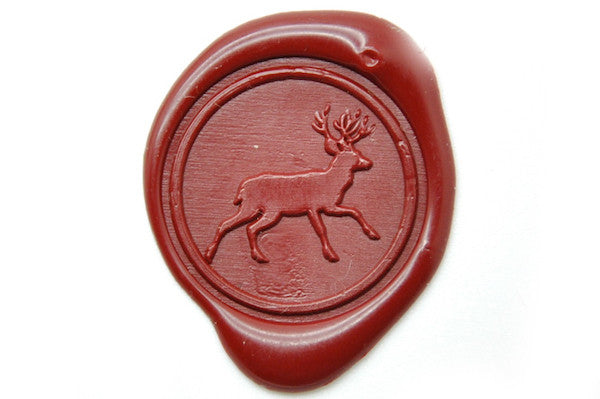 Deer Wax Seal Stamp - Wax Seal Stamp - Backtozero