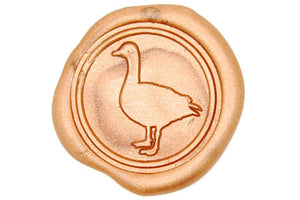 Duck Wax Seal Stamp - Wax Seal Stamp - Backtozero
