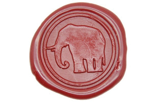 Elephant Wax Seal Stamp - Wax Seal Stamp - Backtozero